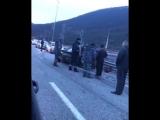 Анфиса Чехова стала свидетельницей ДТП на трассе Адлер - Красная Поляна, в которой пострадали люди. 02.03.18