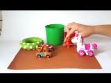 Видео для детей про машинки. Спасение котенка. Игрушки для детей
