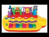 Видео обзоры игрушек - ПИАНИНО KIDDIELAND ЗВЕРЯТА НА КАЧЕЛЯХ