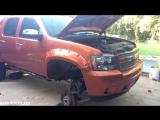 2008 Chevrolet Avalanche LTZ 4X4 6.2L L92 Modification and Swap Project