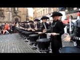 Лучшая группа барабанщиков в мире