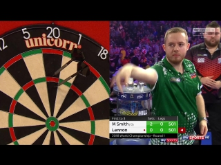 Michael Smith vs Steve Lennon (PDC World Darts Championship 2018 / Round 1)