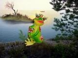 image (4) Не надо стрелять, царевич, - сказала лягушка... - Почему!!, - удивился царевич... - Без обид... страшненький ТЫ... ))