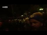 Киев. Полиция ночью окружает майданщиков (18.10.17)