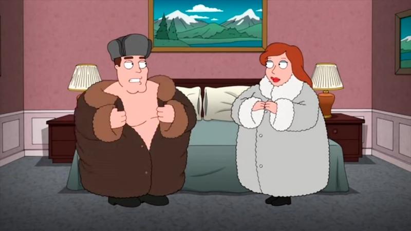 Family guy/гриффины | шубная лотерея