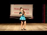 Элина Романова на конкурсе