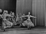 Русский танец и армянская лезгинка из балета