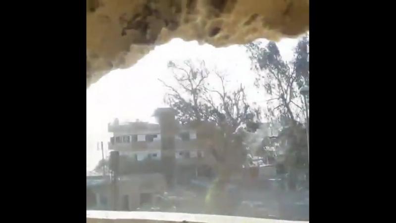 Диалог американского добровольца YPG и боевика ИГИЛ в Ракке.