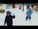 Игра в снежки!
