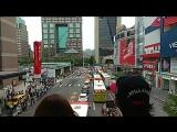 Универсиада. Парад атлетов Китайского Тайпея. В центре города!