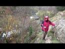 в Чернореченском каньоне в дождь