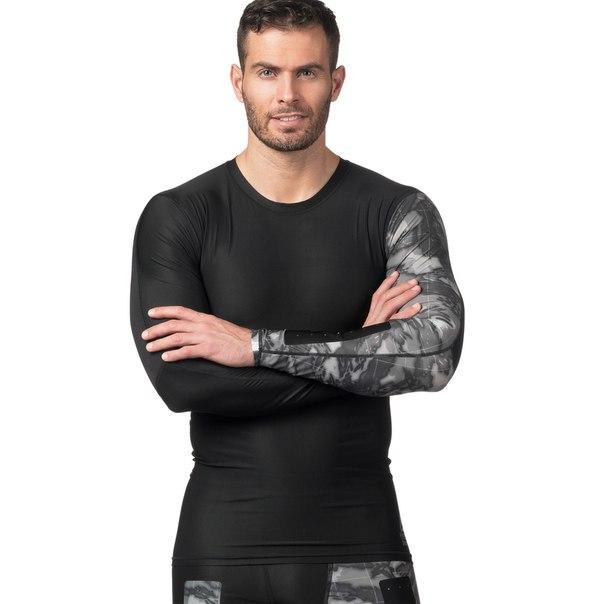 Компрессионная футболка с длинным рукавом Reebok CrossFit