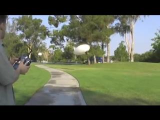 Unbelievable 10 ft outdoor electric rc blimp from eblimp.com