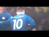 Эден отыгрывает один мяч | NIKULIN | vk.com/nice_football