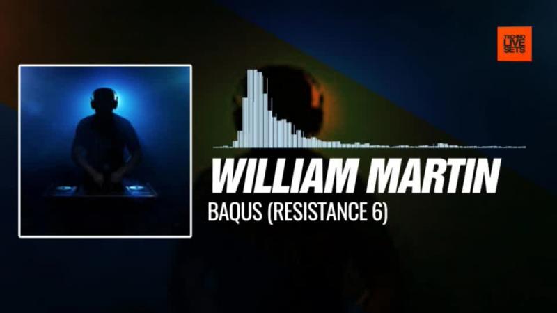 @williammartindj Baqus Resistance 6 10 11 2017 Music Periscope Techno