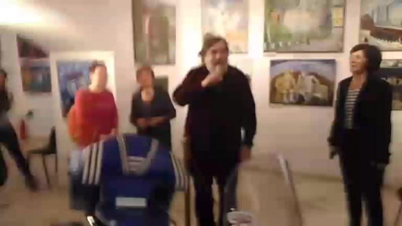 Открытие юбилейной выставки Дмитрия Шагина ДШ в ШД в Шереметевском дворце