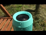JBL Charge 2 plus water test slow motion