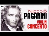 Niccolo Paganini - 1st &amp 2nd violin concertos
