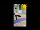 Персональные занятия по детской йоге. Преподаватель Гаридова Е.
