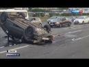 Вести 2000 • Авария на МКАД четверо пострадали