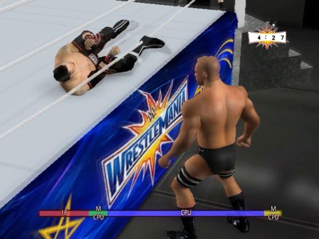 WWE 2K18 WWF RAW PC MOD gameplay