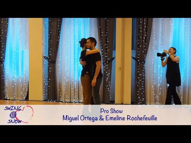 Swing Snow 2017. Pro Show. Miguel Ortega Emeline Rochefeuille