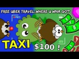 MOPE.IO $100 EAGLE TAXI TROLL! Part 2 (Mope.io NEW update)