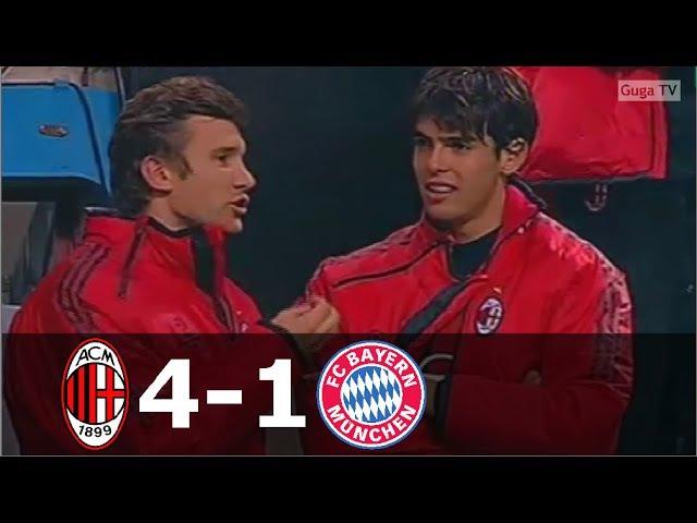 AC Milan vs Bayern Munchen 4-1 - UCL 2005/2006 - Full Highlights