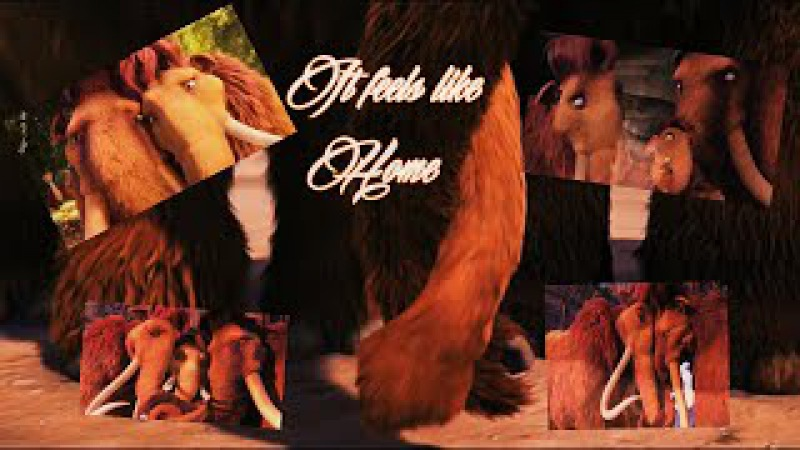 Feels Like Home_Manny x Ellie (ice age AMV official videoclip)