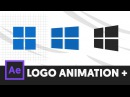 Minimal Logo Animation Intro - After Effects Tutorial (No Third Party Plugin) - T069