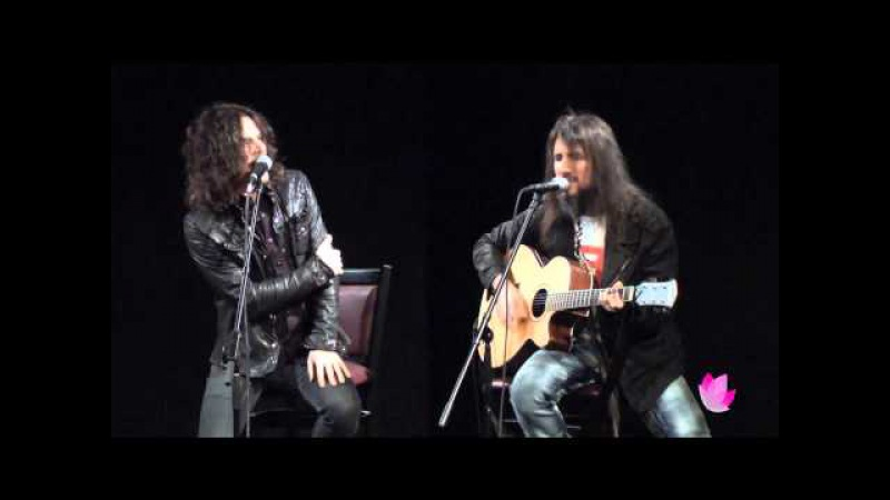 Tony Harnell and Bumblefoot - Somebody to Love (Acoustic) Live in NYC