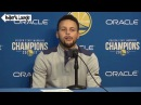 Stephen Curry I Was Feeling Myself Too Much and Doing Too Much Warriors vs Pelicans 11-25-2017