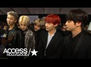 BTS Reacts To Having Niall Horan As A Fan Their 2017 AMAs Performance   Access Hollywood