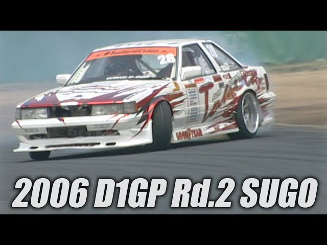 Video Option VOL.147 — D1GP 2006 Rd.2 at Sportsland Sugo Tanso.