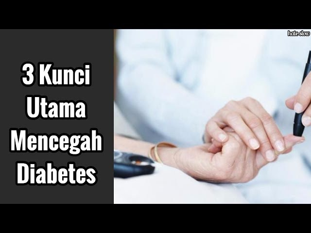 3 Kunci Utama Mencegah Diabetes pada Perempuan