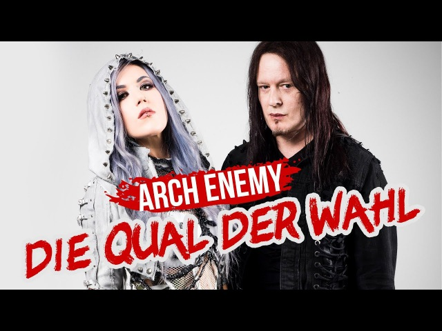 ARCH ENEMY - Die Qual der Wahl    METAL HAMMER