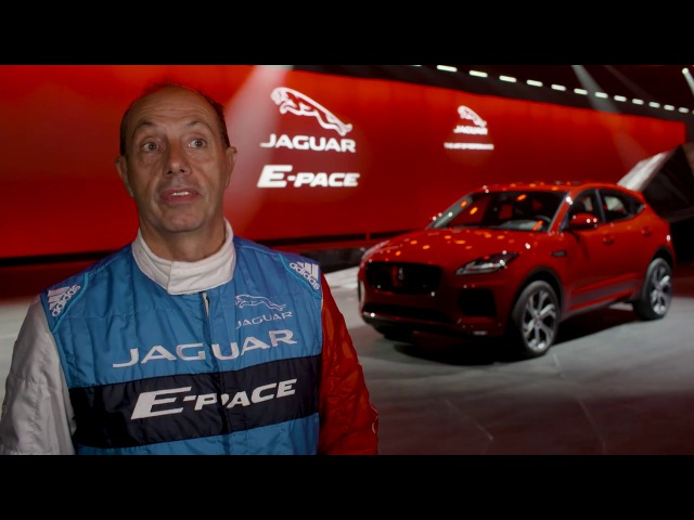 New Jaguar E-PACE | Behind the Scenes of the Barrel Roll