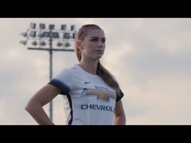 USWNT - Alex Morgan I'm Living Out My Dream (Chevy Youth Soccer Ambassador: New Goals) - 6-12-17