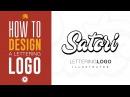 LETTERING LOGO DESIGN   Illustrator Typography Tutorial   Satori Graphics