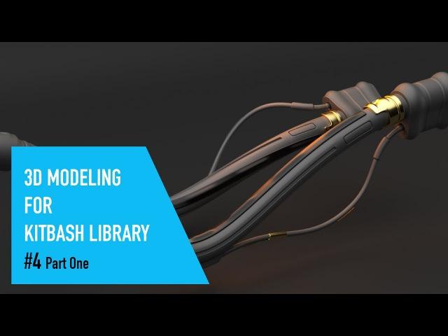 Cinema 4D 3D Modeling For Kitbash Library 04 - Part One