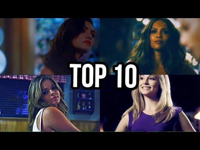 ► TOP 10 Самых красивых и сексуальных девушек из знаменитых сериалов