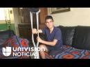 El joven apasionado por el fútbol y el modelaje que perdió una pierna tras protestas en Venezuela