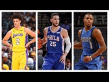 Best of Lonzo Ball, Ben Simmons, Dennis Smith Jr., and More Rookies from the 2017 Preseason