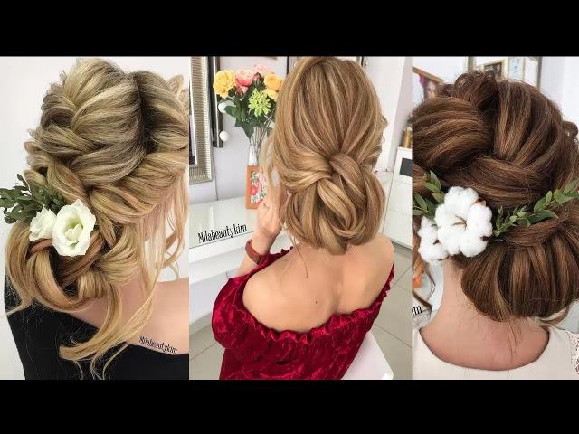 Wedding hairstyles tutorials compilation || Bridal hair tutorial || wedding updo hairstyles tutor