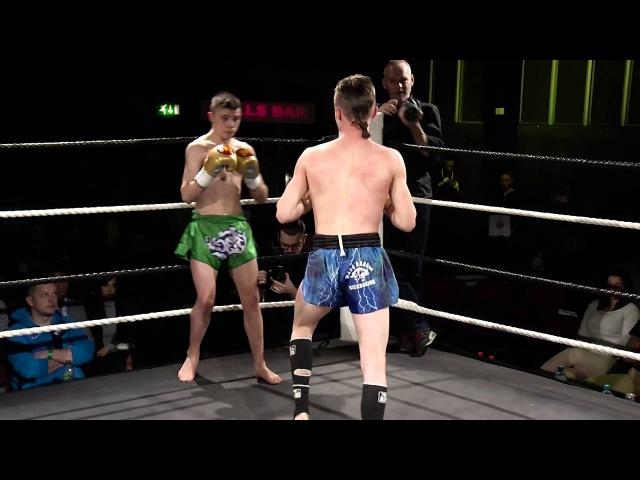 Ruegg v Hynes - Semi Final 2. 4 man 48kg K1 Tournament. Stand and Bang Final, 27th February 2016