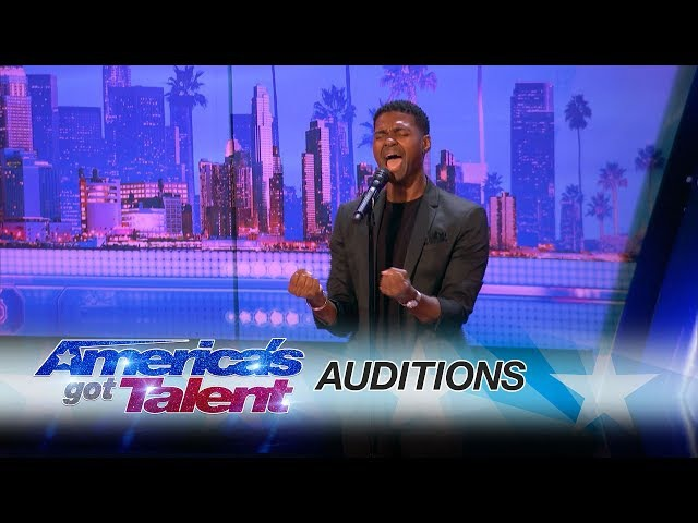 Johnny Manuel: Guy Covers Whitney Houston's I Have Nothing - America's Got Talent 2017