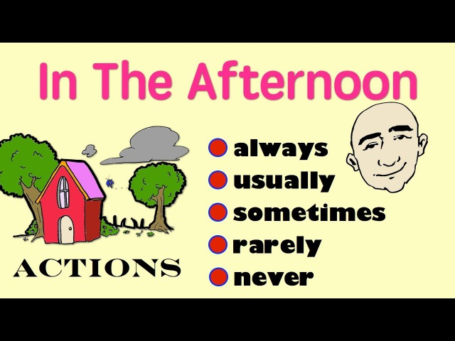 Always, usually, sometimes, rarely, never | English Speaking Practice | ESL | EFL |