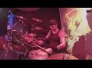 Drumming with Marcus Casetllani Power Of Thy Sword LIVE with KINGS OF STEEL