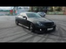 Mercedes Benz CLS W219 Burnout