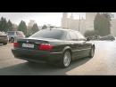 Masina de gangsteri BMW 740i E38 prezentat de o fufarina rusnaca tare